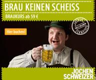 Angebote zu den Bereichen Braukurse, Bierverkostungen und Bierbrauen